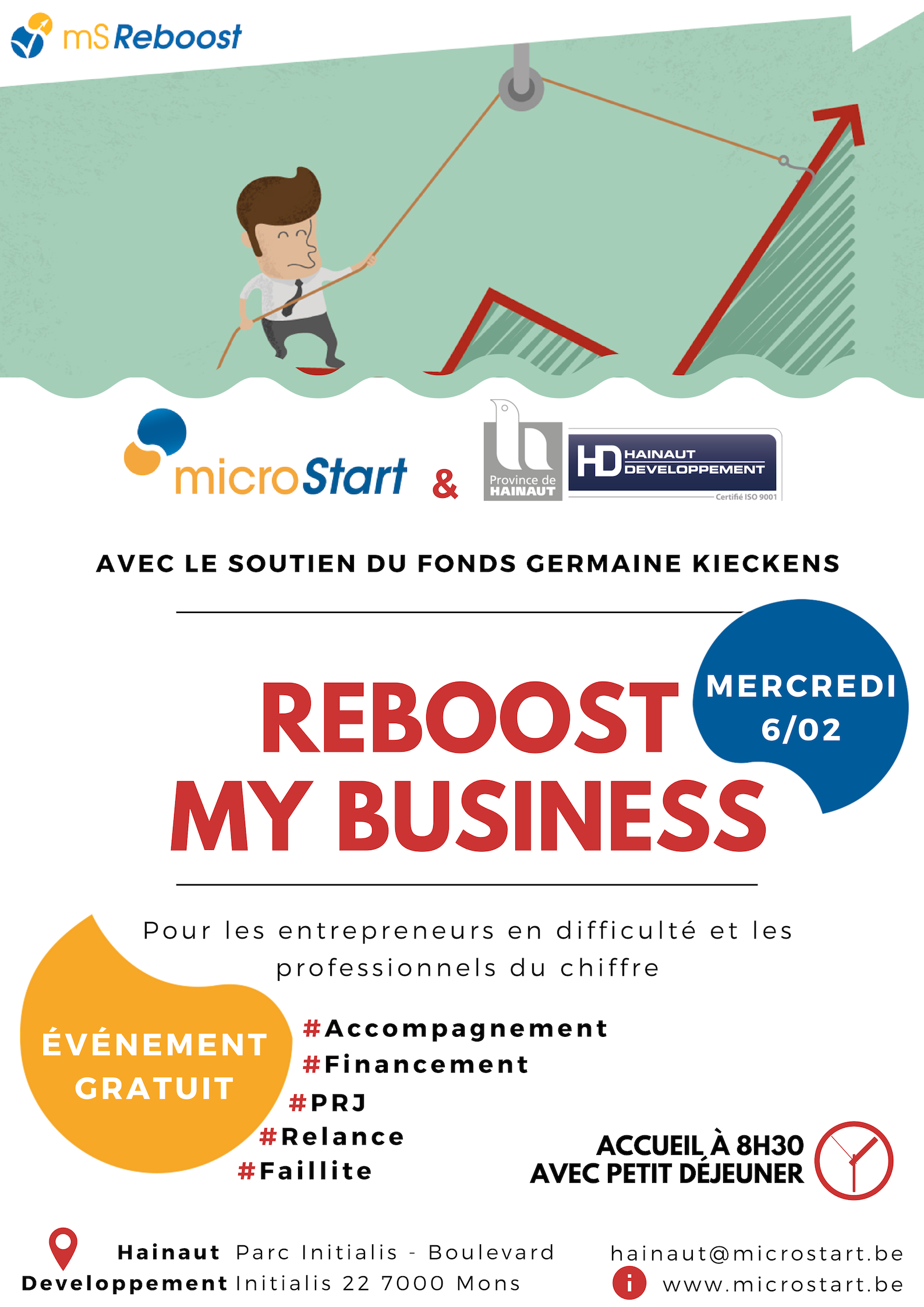 Reboost My Business - Mons