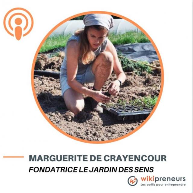 Episode 1 - Le Jardin des Sens - de juriste à cultivatrice de fleurs comestibles